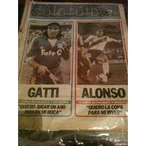 Revista Solo Futbol 11 De Agosto De 1986 Gatti Alonso