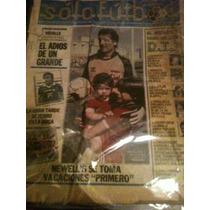 Revista Solo Futbol 23 De Diciembre De 1986 Enrique Vidalle
