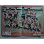 Club Atletico Lanus Apertura 1991 Poster Color Solo Futbol