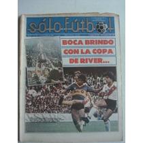 Revista Solo Futbol N° 70 - River De America Poster Figurita