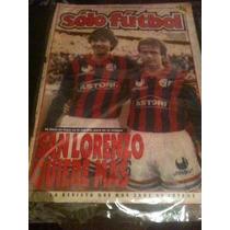 Revista Solo Futbol 10 De Junio De 1991 Czomomaz Ballarino