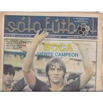 Revista Solo Futbol 6 De Abril De 1987 Boca Juniors