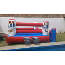Ring De Box Inflable Con Guantes