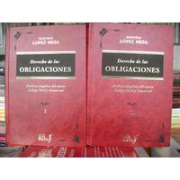 López Mesa / Derecho De Las Obligaciones En El Ccyc - 2 Tms