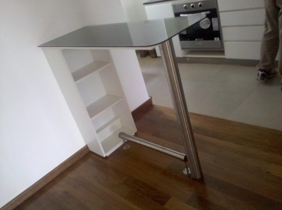 Muebles de cocina con vidrio esmerilado 20170715143126 for Muebles cocina acero inoxidable