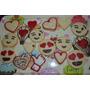 Cookies Decoradas Galletas San Valentin Dia Enamorados