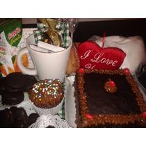 Desayuno Artesanal Para Cumpleaños! Torta,velita Y Globo!