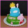 Peppa Pig Tortas Decoradas Personalizadas Por Kilo