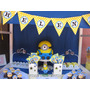 Minions - Mesas Dulces Tematicas Personalizadas - Candy Bar