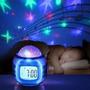 Reloj Proyector Estrellas C/musica Bebe C/luces San Justo
