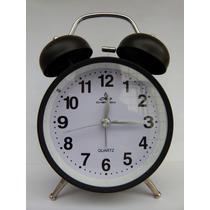 Reloj Despertador A Campanilla Retro Shabby Chic O Vintage