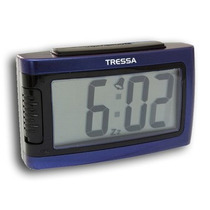 Reloj Despertador Tressa Digital Dd318 Con Snooze Local