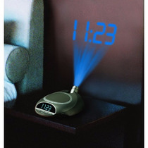 Reloj Digital Con Proyector Homedics: Ss4500