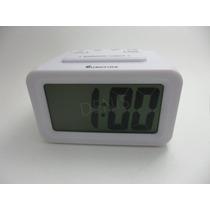 Reloj Despertador Eurotime Digital Con Luz Y Repetición -