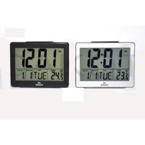 Reloj Mesa Digital Dakot Grande Luz 7 Func 12,5x10 Cm D19