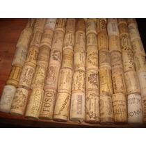 Corchos Naturales De Botellas De Vino Usados