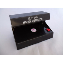 Detector De Billetes Falsos Luz Ultravioleta 220v Nuevos