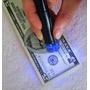 Marcador Fibra Con Luz Uv Para Detectar Billetes Falsos