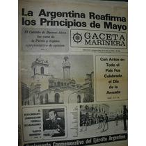 Diario Gaceta Marinera Armada 394 Principios De Mayo