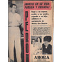 Diario Ahora - 21 De Octubre De 1955 - Peron Evita Dalmaso