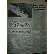 Diario Gaceta Marinera Armada 511 Almirante Franco Bolivar