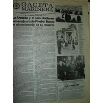 Diario Gaceta Marinera Armada 512 Homenaje Luis Piedra Buena