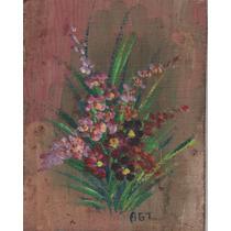 Nº 139 - Flores - Óleo De Adelma Torriani