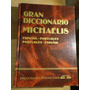 Gran Diccionario Michaelis Portugués- Español- Port. /g