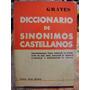 Diccionario De Sinonimos Castellanos