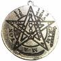 Amuleto Pentagrama Tetragramaton - Protección