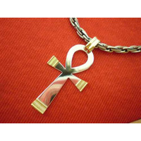Cruz Egipcia - Dije En Plata Y Oro