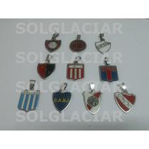 Dije Esmaltado Acero Quirurgico Equipos Futbol Boca River