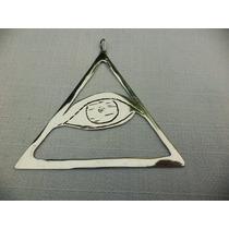 Ojo Triangulo - Cuerpo - Mente - Alma - Alpaca -hecho A Mano
