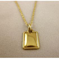 Chapitas De Oro Amarillo Para Grabar