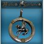 Medalla Plata Y Oro Con Caballo Pegasus Hermosa