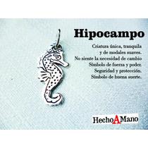 Dije Hipocampo Caballito De Mar Plata 925. Joya Unica