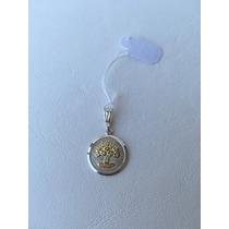Dije, Medalla Arbol De La Vida De Plata 925.