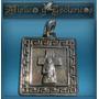 Gauchito Gil Medalla En Plata Modelo 13