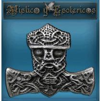 Vikingos Mjolnir. Martillo De Thor Plata 925 Modelo 61