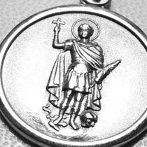 Medalla De San Expedito De Plata 925