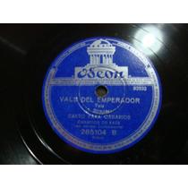 Disco Pasta 78 Rpm Canto Para Canarios Acomp Instrumenta C44