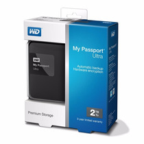 Tricubo - Western Digital My Passport Ultra 2tb Usb 3.0 2.0