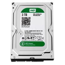Disco Rigido 3tb 64mb Sata3 Western Digital Green 6 Gb S