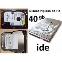 Disco Rigido 40gb Ide En Quilmes