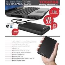 Disco Externo Toshiba 1tb Canvio 3.0 Basic Con Garantía