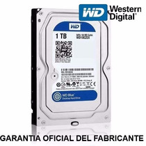 Disco Rigido 1tb Wd Western Digital Serie Blue Sata 3