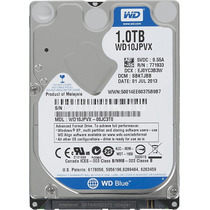 Disco Rígido Notebook 1tb Wd Blue - Sata 3 - 8 Mb - Wd10jpvx