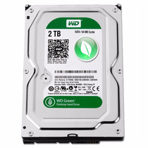 Disco Rigido Wd 2tb Western Digital Caviar Green Sata3 64mb