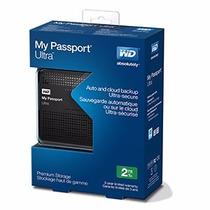 Disco Rigido Externo Portable Wd My Passport 2tb Usb 3.0
