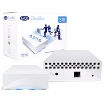 Disco Rigido Externo 3tb Lacie Cloudbox Ethernet Pc Mac Win
